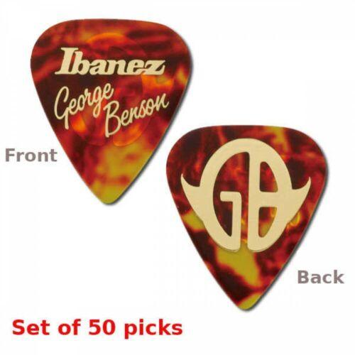 Ibanez 1100GB Guitar Pick George Benson Model Set of 50 Picks FastShip Japan EMS