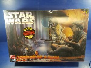 AMT Star Wars Encounter with Yoda on Dagobah Plastic Model Kit Factory Sealed