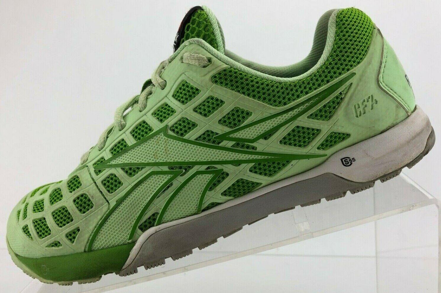 Reebok CrossFit Nano 3.0 Cross Training Chaussures Vert Athlétique Baskets Femme 7.5