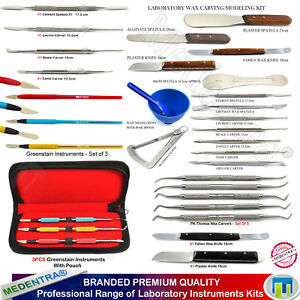 Dental-Range-of-Waxing-Modelling-Instruments-Wax-Carvers-Knives-Plaster-Spatulas