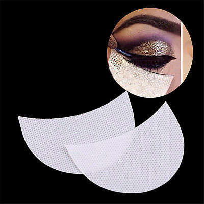 20Pcs Eye Shadow Shields Patches Eyelash Pad Under Eye Stickers Makeup Tools