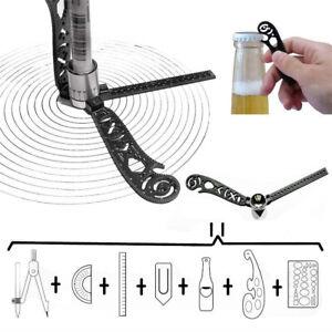 2PCS-Ultimate-Design-Tool-Mini-Compass-Protractor-Combo-Circles-Drawing-Modules