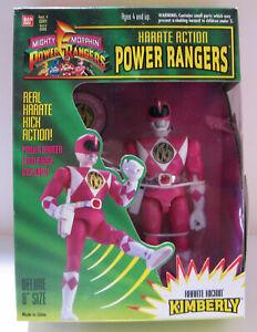 "Power Rangers - Kimberly - 8"" Karate Kickin - w/Logo Badge"