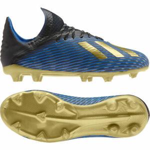 Details Zu Adidas Fussballschuhe X 19 1 Fg Kinder Schwarz Gold F35682 Neu Ovp