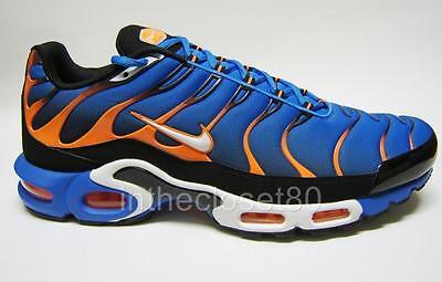 Nike Air Max Plus Tn Tuned 1 Photo Blue Orange White Mens Trainers 852630 400
