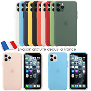 Coque-Silicone-Case-iPhone-11-11-Pro-Max-X-XR-MAX-Etui-Coffret-Protection