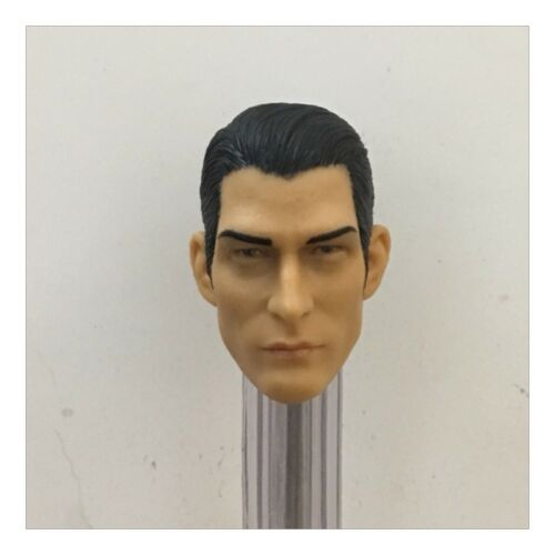 "Hot Toys Action Figure Head Sculpt For 12/"" Male Doll 1:6 Scale Head Carving"