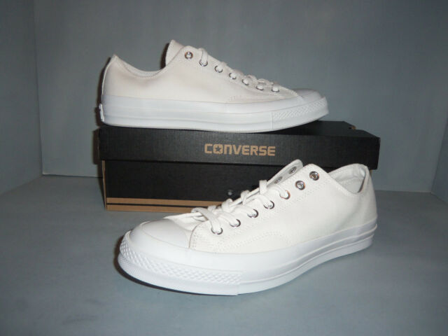 WHITE Mens CONVERSE CHUCK TAYLOR ALL STAR 70 OX 1970 1147071C NIB NEW Sizes!!