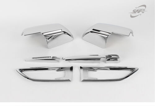 New Chrome Exterior Cover Molding Trim Set K525 for Kia Soul 2008-2013