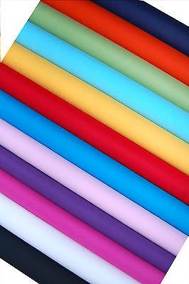 Stoff,  7,80€ / lfm.,  Meterware,  Patchwork, Unis, viele Farben,  50cm x 140 cm