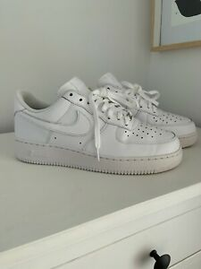 Details about Nike Air Force 1 Low White Size US 10.5