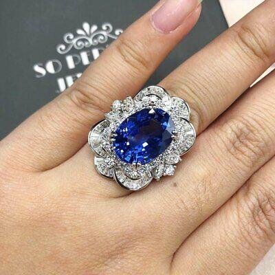 Multi Strand Baguette Emerald /& Sapphire 8.53TCW 925 Sterling Silver Women Ring