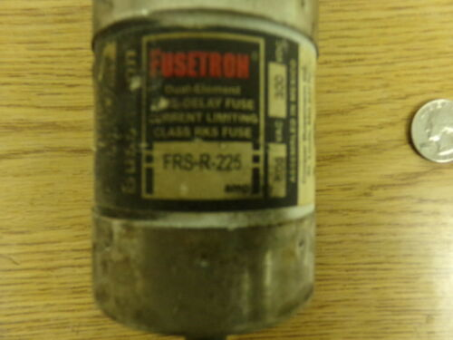 Fusetron FRS-R-225 Dual Element Time Delay Bussman Fuse *FREE SHIPPING*