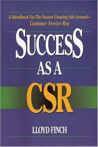 Success As a Csr by Finch, Lloyd