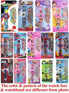 24-Images-Digital-Projector-Projection-Wrist-Watch-Kids-Toy-Child-Christmas-Gift