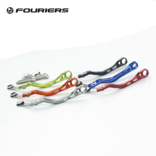 Fouriers Road Bike CNC Chain Catcher Drop Keeper With magnet for SRM powermeter