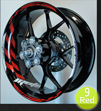 RS0184 decal wheel rim sticker graphics stripe kit for Yamaha Motorcycles