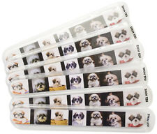 Fetch for Pets Shih Tzu Nail Files 6-Pack Emery Boards Dog Puppy Animal Cute
