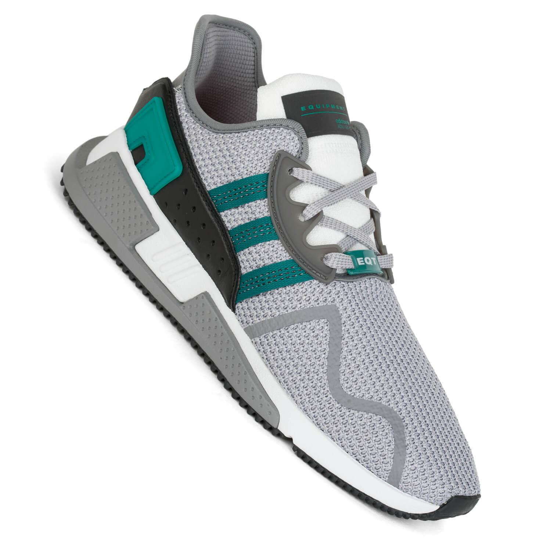 Adidas Eqt μαξιλάρι Ρξοπλισμού Adv Grigio Due πράσινο πάνινα παπούτσια Uomo AH2232