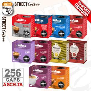 256 CIALDE CAPSULE CAFFE' LAVAZZA A MODO MIO A SCELTA ORIGINALI INTENSO GRATIS