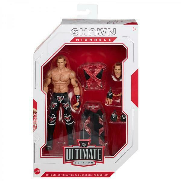 Shawn Michaels WWE Ultimate Edition 4 Mattel Toy Wrestling Action Figure
