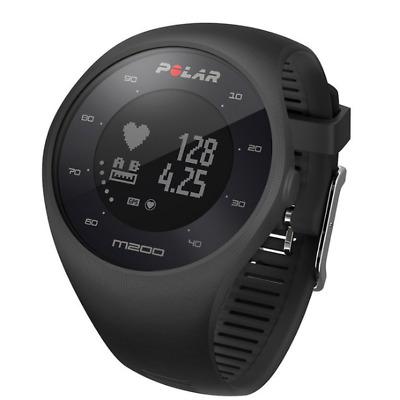 Reloj Deportivo Polar M200 con GPS y Frencuencia Cardiaca - Negro