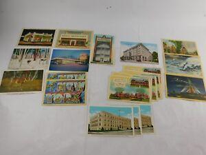 Vintage Postcard Lot of 21 New York New Jersey Pennsylvania 1960-70's