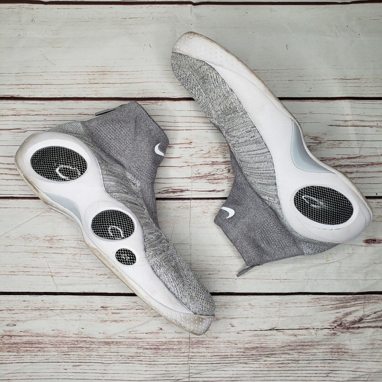 NIKE Flight Bonafide Jason Kidd shoes Cool Grey Platinum 917742-002 MENS SZ 9.5
