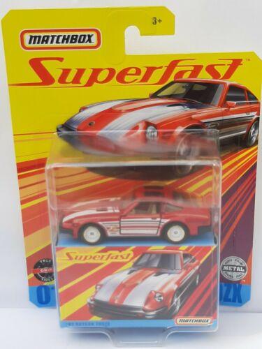 Neuf sous bister Datsun 260 Zx Matchbox superfast 1 //64