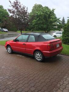 1998 Volkswagen Cabrio CABRIO