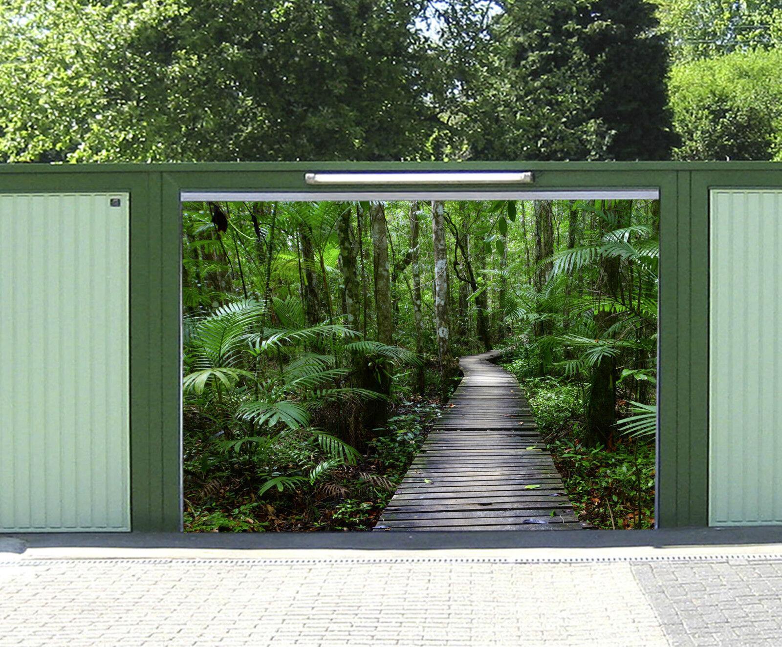 3D Chemin Forestier 956 Garage Porte Peint en Autocollant Murale AJ WALLPAPER FR