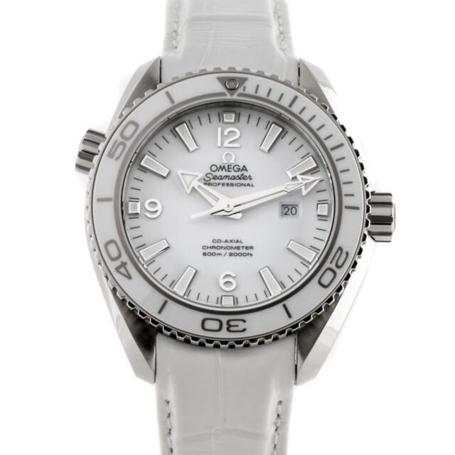 New Omega Seamaster Planet Ocean Steel Auto Mens Watch Strap 232.33.38.20.04.001