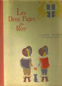livre-ancien-1947-034-les-Deux-Pages-du-Roy-034-par-Claude-Farrere