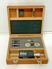 Mitutoyo 468 956 Holtest Digimatic Inside Micrometer Set Withrings Amp Case 245c