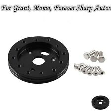 "New 0.5""Hub for 5&6 Hole Steering Wheel to Fit Grant APC 3 Hole Adapter Aluminum"