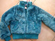(294) Nolita Pocket Winterjacke Kunstfell Jacke mit riesen Logo Stickerei gr.116