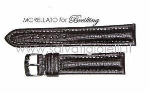 cinturino-marrone-scuro-MORELLATO-breitling-dark-brown-strap-22mm-TOP-QUALITY