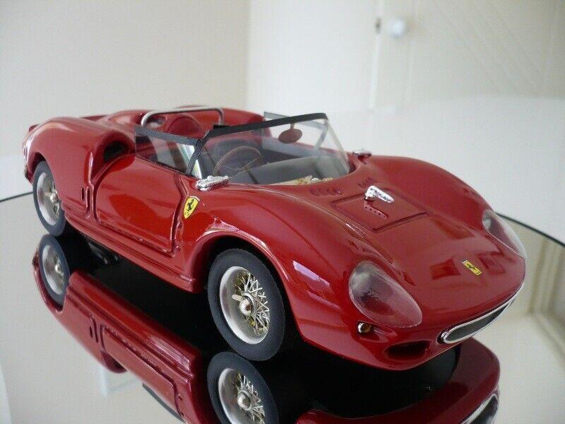 Modelo 1 18 Ferrari 330 S 1965 por rojo Modelo Edición Limitada De Italia