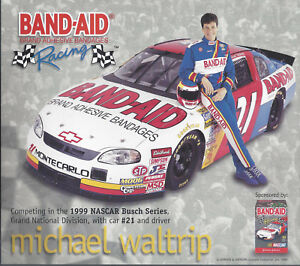Image Is Loading 1999 MICHAEL WALTRIP 034 BAND AID 21