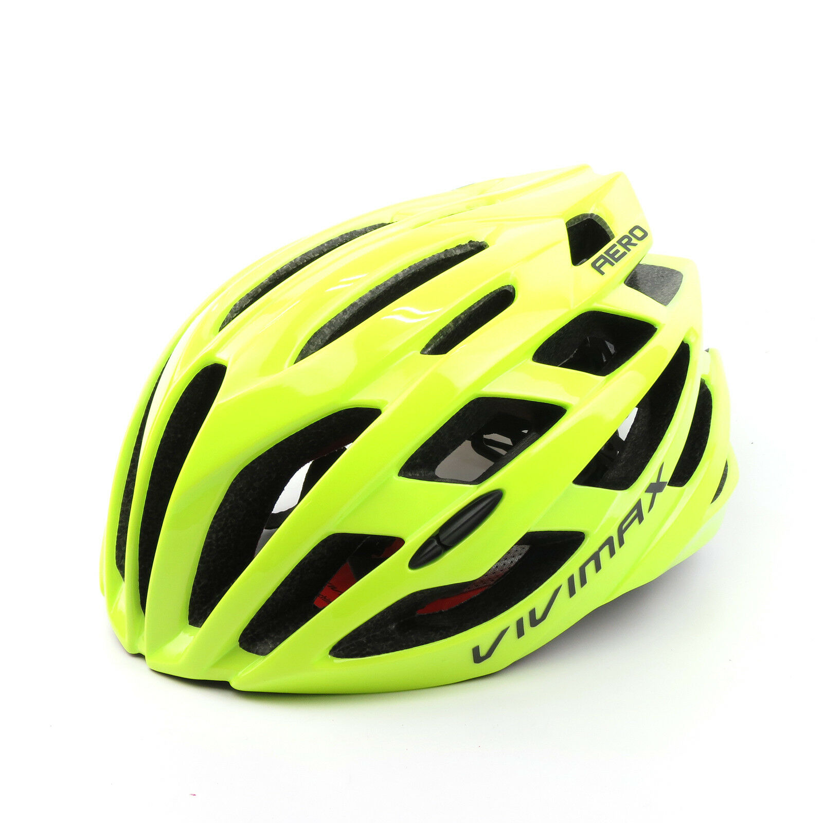 VIVIMAX Aero Road Bike Bicycle Cycling Helmet L  XL 58-62cm - Fluorescent Green  first-class service