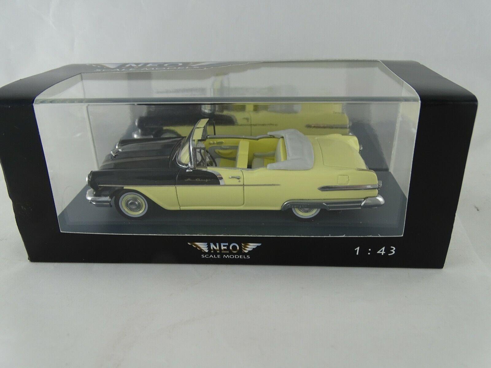 1 43 Neo Scale Models 44060 Pontiac Star Capo Converdeible Giallo Nuovo   Conf