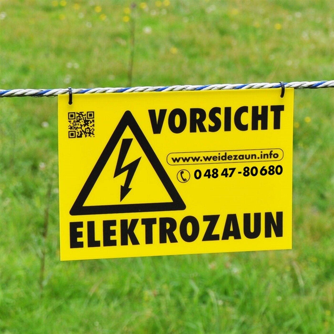 1000m 20mm Weidezaun Band Elektro Zaun Pferde Pony Schaf Schaf Schaf Rinder Ziegen Hunde 32621c