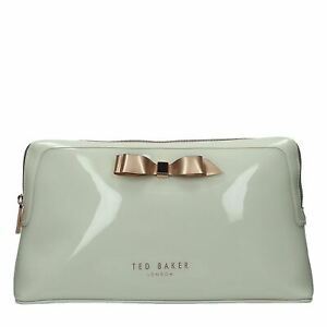 Womens-Ted-Baker-large-bowcos-makeup-bag-Wash-Bag-Zip-New