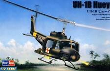 HobbyBoss Bell UH-1B Huey Medical Vietnam & 117th US Army - 1:72 Modell-Bausatz