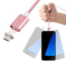 Magnet Kabel Ladegerät Micro USB Ladekabel Adapter für Android Samsung HTC