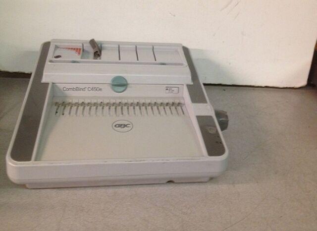 GBC CombBind C450E Electric Comb Binding Machine