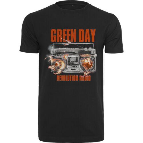 Merchcode-Green Day Révolution Radio mc018 Black