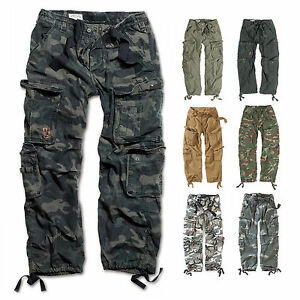 SURPLUS-Raw-Vintage-Cargo-Hose-AIRBORNE-VINTAGE-Trousers-US-Streetwear-Pants
