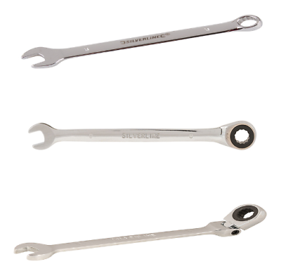 Flexi Ratchet Offset 6mm-32mm Fixed METRIC Combination Spanners