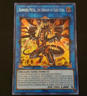 Darkness Metal BLAR-EN047-1st Edition NM the Dragon of Dark Steel